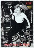 Marilyn Monroe - Niger Stamp #4