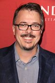 LOS ANGELES - FEB 10:  Vince Gilligan at the The Hollywood Reporter's Annual Nominees Night Party at