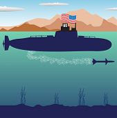 US submarine
