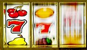 stock photo of coin slot  - slot machine  - JPG