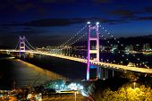 foto of hong kong bridge  - Hong Kong bridge - JPG