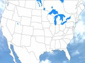 Us America States Map