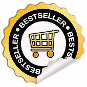 Bestseller sticker