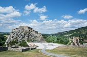Famous Castle Devin Near Bratislava