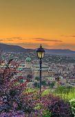 Budapest Castle At Dusk