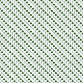 Green And White Marijuana Leaf And Dollar Symbol Pattern Repeat Background