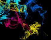Gradient Light Colored Smoke