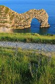 Natural Archway At Jurassic Coast