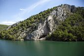 Croatia. Krka National Park. Waterfall