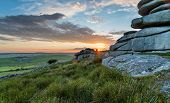 Beautiful Sunset On Bodmin Moor