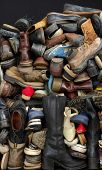 old shoes backgrounds