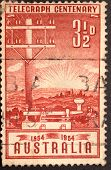 Old Australian Postage stamp.