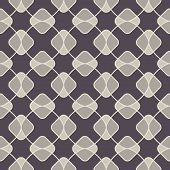 Abstract geometric seamless pattern with rhombus