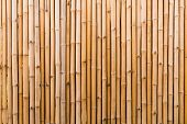Decorative Old Bamboo Wood