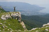 Tourist In Crimea