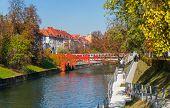 Autumn in Ljubljana, Slovenia