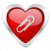 paperclip valentine icon