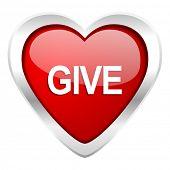 give valentine icon