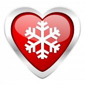 snow valentine icon air conditioning sign