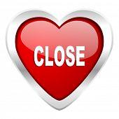 close valentine icon