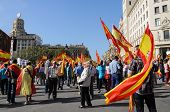 National Day Of Spain In Barcelona