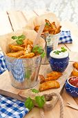 Fresh Potato Wedges