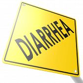 Road Sign With Diarrhea