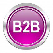 b2b violet icon
