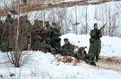 German Soldiers Resting