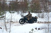 Armed Motorbike