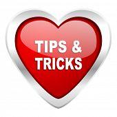 tips tricks valentine icon