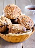 Wholewheat Berry Muffins