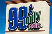 99 Cents Only Stores Sign And Logo