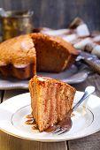 Slice Of Ginger Cake