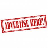 Advertise Here!-stamp
