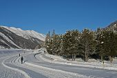picture of engadine  - The Engadin Valey is a beautiful holiday resort in the south-east of Switzerland. There is something for everyone and for all seasons.