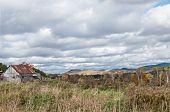 Old Rustic Pinkish Barn