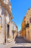 Alleyway. San Severo. Puglia. Italy.