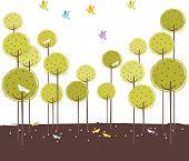 Retro Forest Design
