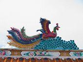 Statue Of Mythological Bird
