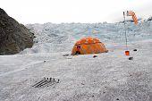 Mendelhall Glacier`s Camp