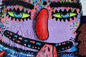 Street art by unknown artist