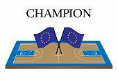 Basketball Champion Court Europe