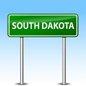 South Dakota Green Sign