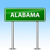 Alabama Green Sign