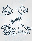 Sea creatures b