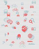 Urban mobility icons vol b b