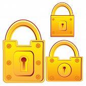 Door lock from gild