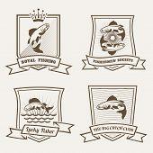 Salmon badges