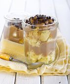 Caramel Dessert In Jar